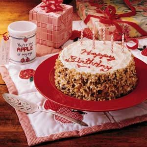 Grandparent's Birthday Cake Recipe