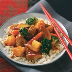 Pineapple Pork Stir-Fry