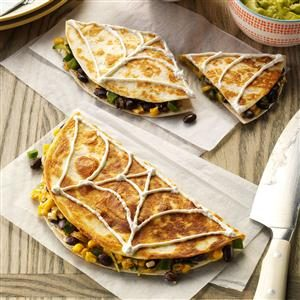 Confetti Corn Quesadillas Recipe