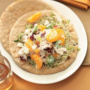 Fruited Tuna Salad Pitas