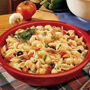 Italian Pasta Salad with Pepperoni Recipe
