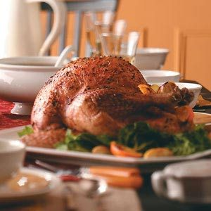 Garlic and Herb Roasted Turkey Recipe