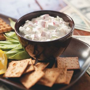 Creamy Radish Dip Recipe photo by Taste of Home