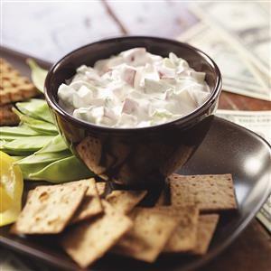 Creamy Radish Dip Recipe
