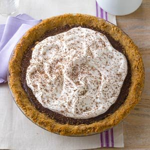 Triple Chocolate Dream Pie