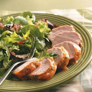 Apricot-Glazed Pork Tenderloin Recipe | Taste of Home