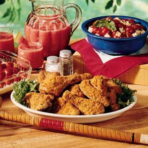 Crispy Picnic Chicken Recipe