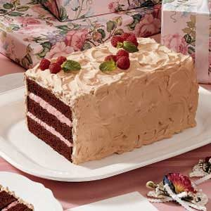 Chocolate Raspberry Torte Recipe