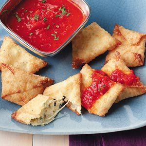 Italian Cheese Wontons Recipe