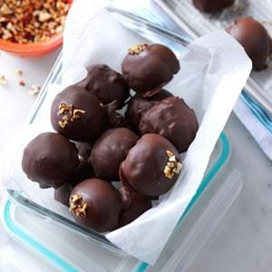 Mocha-Pecan Ice Cream Bonbons Recipe