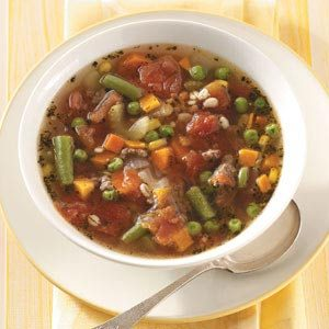 Hearty Vegetable Barley Soup Recipe