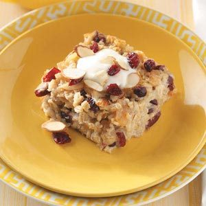 Michigan Fruit Baked Oatmeal Recipe