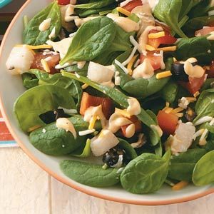 Tex-Mex Spinach Salad