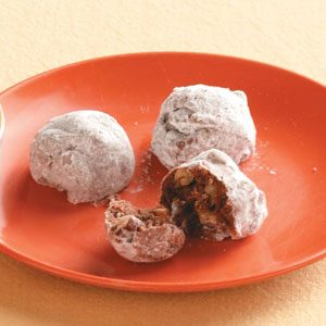 Orange Cocoa Sandies Recipe
