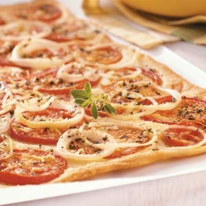 Fresh Tomato Flatbread
