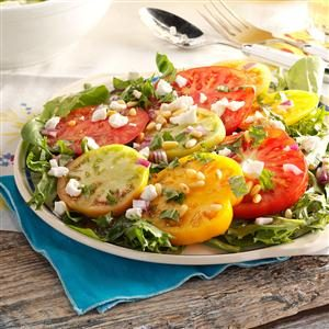 Fresh Heirloom Tomato Salad Recipe