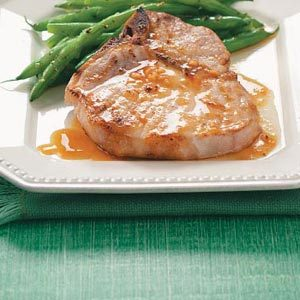 Pork Chops with Orange Sauce Recipe