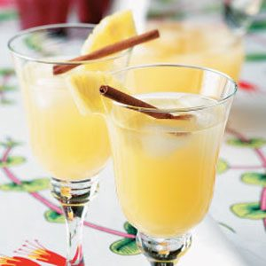 Spiced Pineapple Cooler Recipe