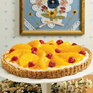 Peaches 'n' Cream Tart Recipe