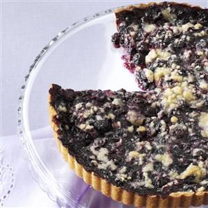 Blueberry & Ginger Tart