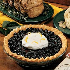 Fresh Blueberry Pie Recipe