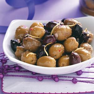 Citrus Spiced Olives Recipe