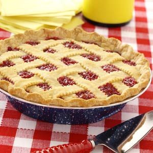 Simple Raspberry Cherry Pie Recipe