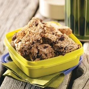 Cinnamon Granola Bars Recipe