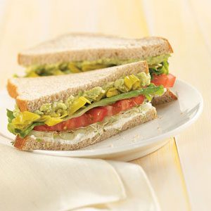 Summer Veggie Sandwiches