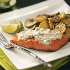 Cilantro-Lime Salmon Recipe