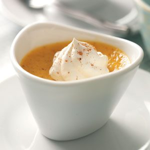 Mini Pumpkin Custards Recipe