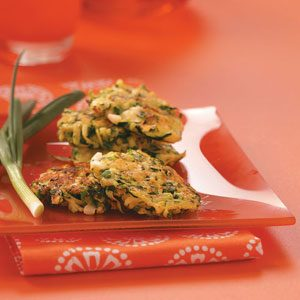 Healthy Zucchini Pancakes Recipe