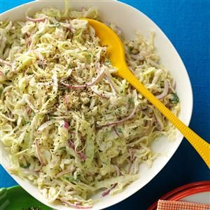 Cilantro Blue Cheese Slaw Recipe