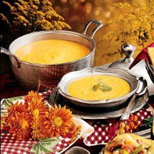 Southwestern Squash Soup Recipe