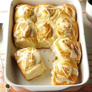 Orange Cheesecake Breakfast Rolls Recipe