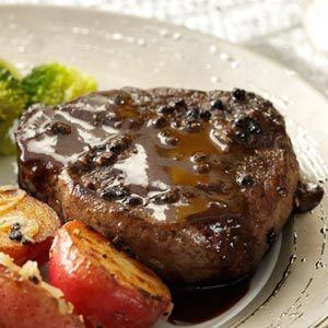 Steak au Poivre for 2 Recipe