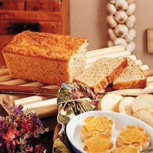 Sour Cream Herb Bread Recipe