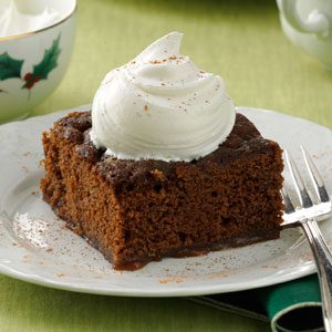 Spiced Pudding Cake Recipe