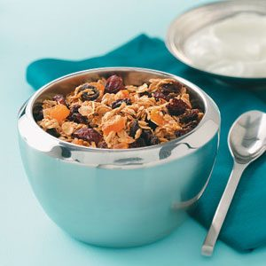 Super Low-Fat Granola Cereal