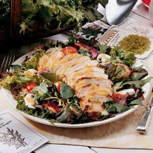 Honey-Mustard Chicken Salad Recipe