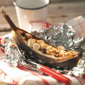 Hot Quick Banana Boats