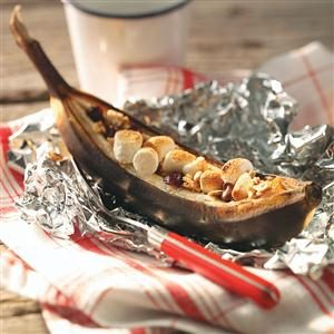 Hot Quick Banana Boats Recipe