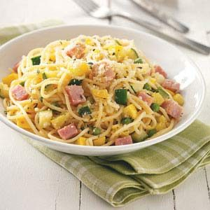 Ham Carbonara Recipe