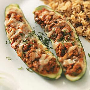 Southwest Zucchini Boats Recipe
