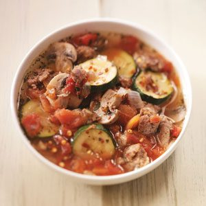 Sausage Pizza Soup Recipe