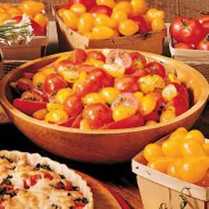Herbed Tomato Salad Recipe