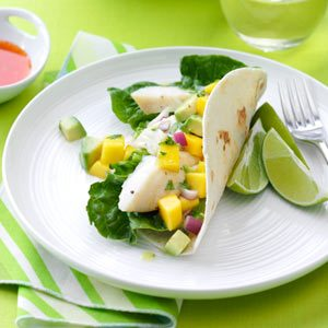 Halibut Soft Tacos