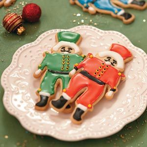 Nutcracker Butter Cookies Recipe