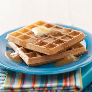 Easy Morning Waffles Recipe
