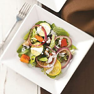 Grilled Vegetable Ranch Salad Recipe